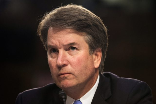 U.S. Supreme Court nominee Brett Kavanaugh testifies in Washington